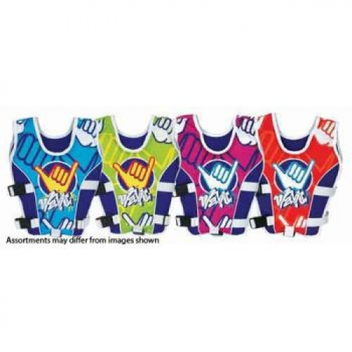 Wahu Swim Vest Medium assorted 4-5 years - 15-25kg
