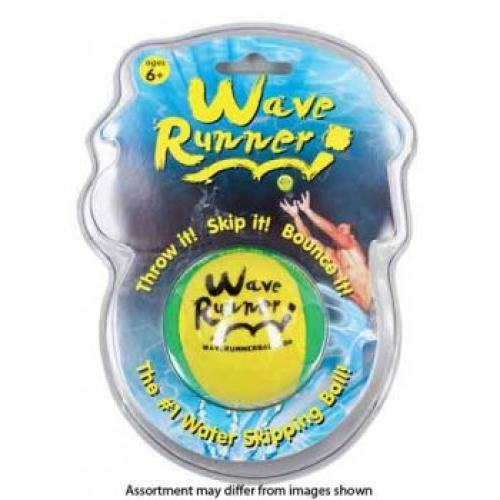 Waverunner Beach Ball Blister Pack assorted