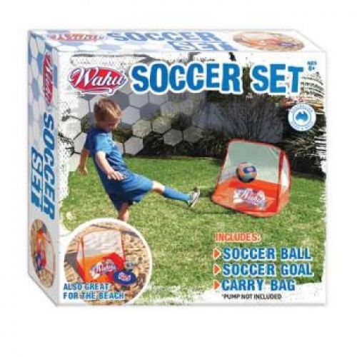 Wahu Mini Soccer Goal Set