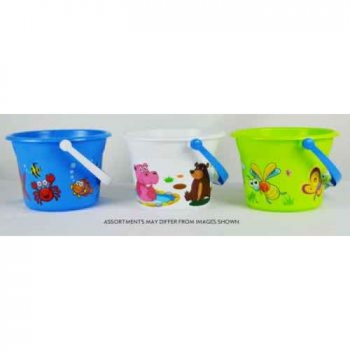 Beach Bucket Large Printed assorted