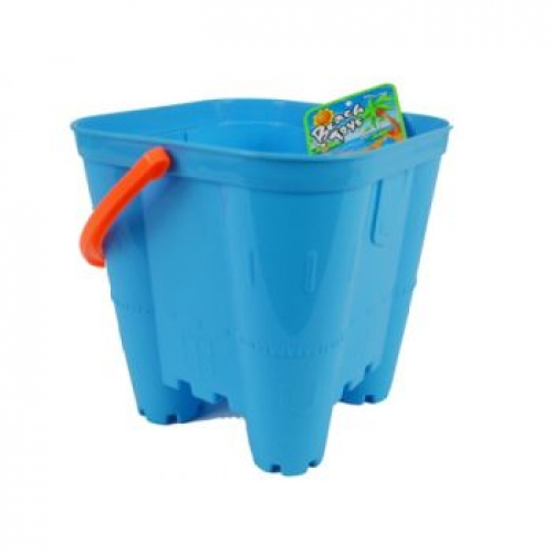 Beach Large Castle Bucket assorted