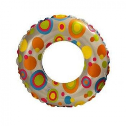 Intex 61cm Lively Print Swim Ring